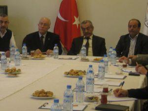 Kayseri Ticaret Odası'nda bilgilendirme toplantısı düzenlendi.