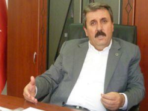 """BBP Genel Başkanı  Destici, """"Türkiye'deki şike lobisinin Amerika'daki Ermeni lobisinden bile daha etkili olduğu ortaya çıkmıştır. """" dedi."""