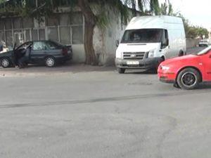 Kayseri'de Vatandaşlar çıldırtan trafik kazası yeter artık ışık istiyoruz