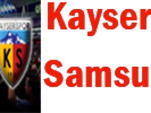 Samsun'da puan mücadelesi