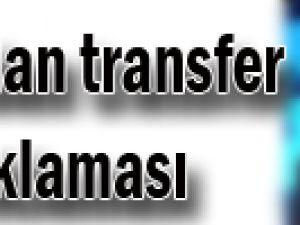 Aysal'dan transfer açıklaması