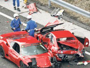 İşte Dünyanın en pahalı kazası