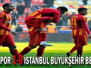 -Kayserispor: 1 - İstanbul Büyükşehir Belediyesi: 0