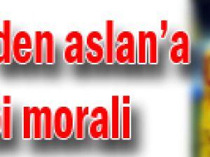 Eboue'den Aslan'a derbi morali
