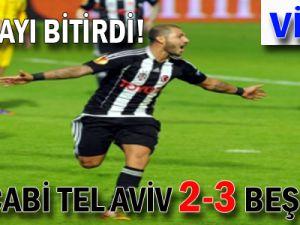 Q7 olayı bitirdi! % Maccabi Tel Aviv 2-3 Beşiktaş - VİDEO -