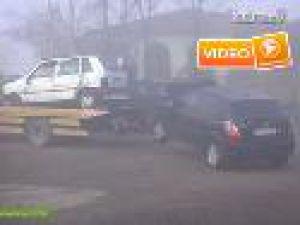 21 araç siste birbirine girdi - Video