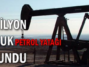 11 milyon tonluk petrol yatağı bulundu