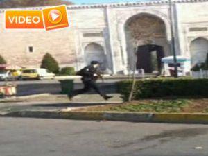 Sultanahmet'deki çatışma amatör kamerada - VİDEO -