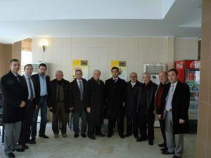Gazeteciler Cemiyeti'nden Basın İlan Kurumu Müdürü Özden Konur'a ziyaret