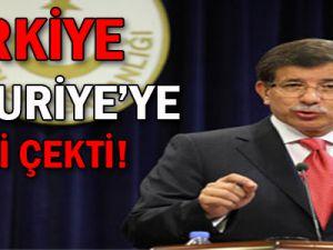 TÜRKİYE SURİYE'YE RESTİ ÇEKTİ!