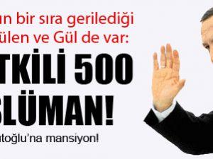 Erdoğan 3, Gülen 15, Gül 27'inci sırada