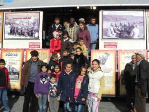 Çanakkale 1915 seddülbahir gezici  Müzesi Gazi kasabasında