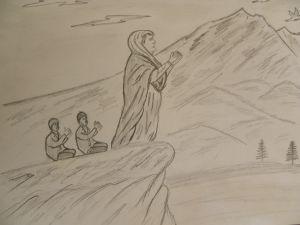 Ağ Gelin'in efsanesi