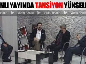 Chp'li Savcı Sayan,Samanyolu Temsilci Abdulkadiroğlu Canlı Yayında Kavga Etti-video