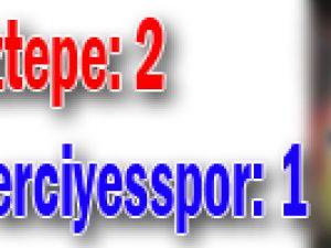 Bank Asya 1. Lig: Göztepe: 2 - Kayseri Erciyesspor: 1