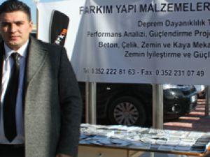 FARKIM MÜHENDİSLİK MARİNA'DA DEPREM DAYANIKLI PANELE KATILDI