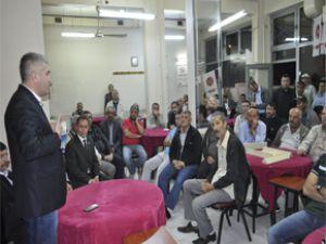 KAYSERİ MHP KOCASİNAN TURGUT REİS MAHALLESİNDE TOPLANTI