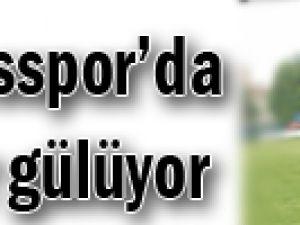 Erciyesspor'da yüzler gülüyor