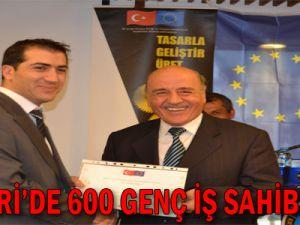 KAYSERİ'DE 600 GENÇ İŞ SAHİBİ OLDU