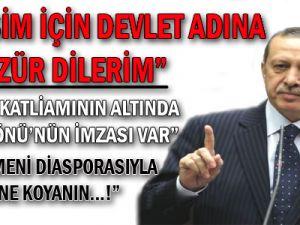Erdoğan'dan Şok Dersim Belgeleri