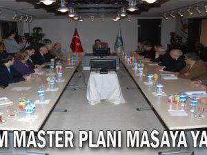 DEPREM MASTER PLANI MASAYA YATIRILDI