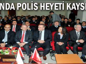 Hollanda polis heyeti Kayseri'de