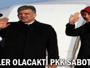 Gül: İyi işler olacaktı PKK sabote etti