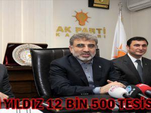 Bakanı Yıldız: 12 BİN 500 TESİS AÇTIK
