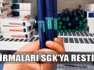 İlaç üreticisi firmalardan SGK'ya rest