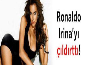 Ronaldo, Irina'yı çıldırttı