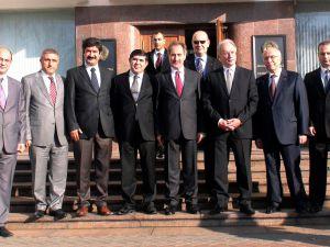 Türk-Belarıs İş Konseyi Orta Toplantısına,Başkan Vekilimiz M.Erçalık katıldı