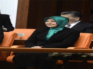 Hayrünnisa Gül ilk defa TBMM'de Köşk locasında Cumhurbaşkanı Gül'ü dinliyor