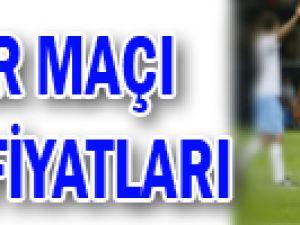 Inter maçı bilet fiyatları
