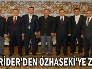 KAYSERİDER'DEN ÖZHASEKİ'YE ZİYARET