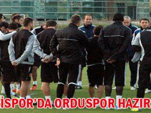 KAYSERİSPOR'DA ORDUSPOR HAZIRLIKLARI