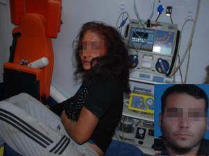 Para vermeyen kız arkadaşını dövdü
