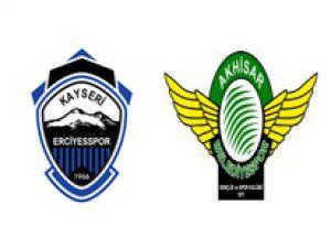 Bank Asya 1. Lig -Kayseri Erciyesspor: 2 - Akhisar Belediye Gençlik Spor: 3
