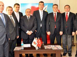 Kayserider, Gazeteciler Cemiyeti'ni ziyaret etti
