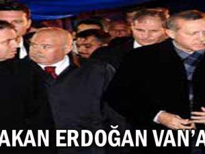Başbakan Erdoğan Van'a gitti