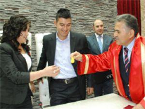 Melikgazi Belediyesin'De11.11.2011 Nikah Kıyıldı
