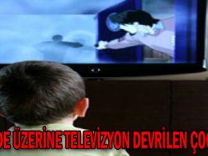 Kayseri'de Üzerine Televizyon Devrilen Çocuk Öldü