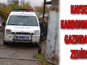 Kayseri'de Karbonmonoksit Gazından 4 Kişi Zehirlendi