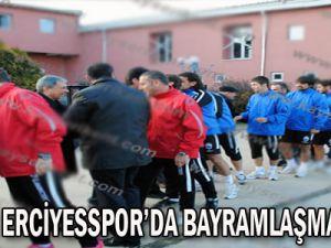 KAYSERİ ERCİYESSPOR'DA BAYRAMLAŞMA TÖRENİ