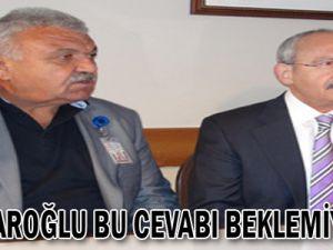 Kılıçdaroğlu bu cevabı beklemiyordu!