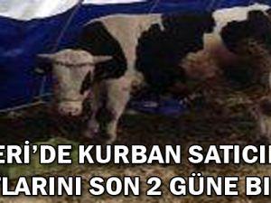 Kayseri'de Kurban Satıcıları Umutlarını Son 2 Güne Bıraktı