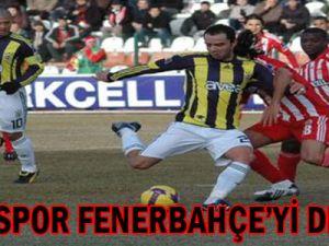 Sivasspor: 2 - Fenerbahçe: 0