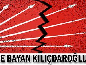 CHP'de Bayan Kılıçdaroğlu krizi