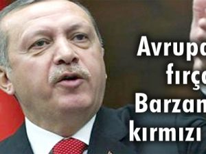 Avrupa'ya fırça Barzani'ye kırmızı halı