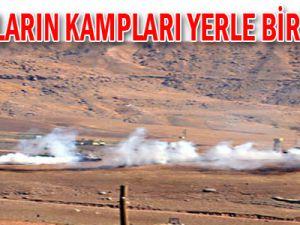 PKK'lıların Kampları Yerle Bir Edildi