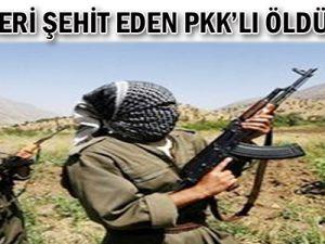 40 askeri şehit eden PKK'lı öldürüldü